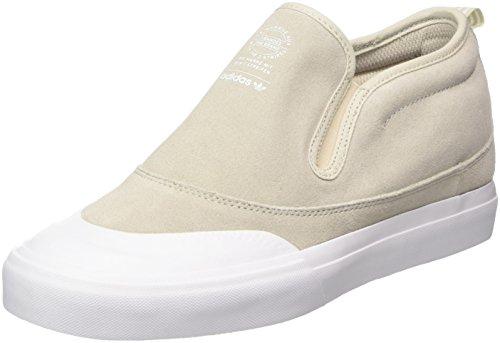 adidas Matchcourt Mid Slip, Scarpe da Skateboard Uomo, Marrone (Cbrown/Ftwwht/Gum4 000), 43 1/3 EU