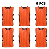 Lixada 6 PCS Training Vests,Football...