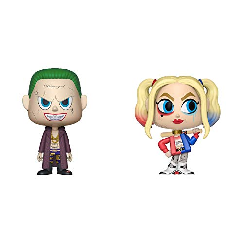 Pop! Suicide Squad - Figura de Vinilo 2Pk Vynil The Joker & Harley Quinn