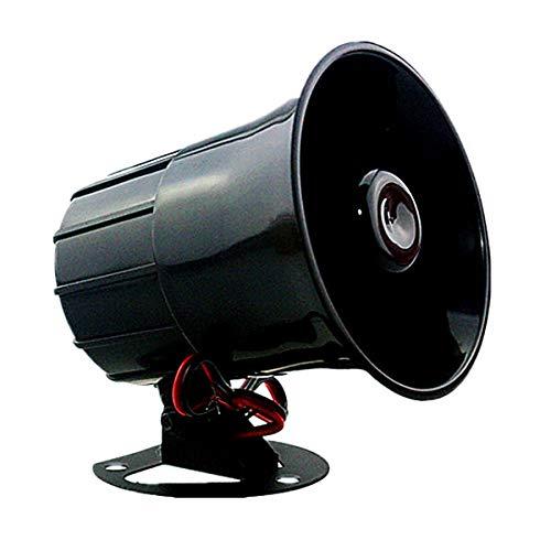 Sirena Alarma Hogar Cableada Megafono S103. Conexion Mediante Cable...