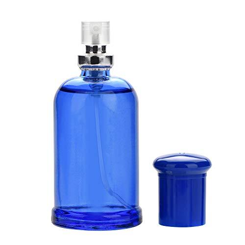 50 ml Eau de Toilette, Agua de tocador Perfume de Colonia Clásico para Hombre, Perfume Sexy de Tentaciones de Caballero Maduro de larga duración(azul)