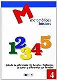 MATEMATICAS BASICAS - 4 Cálculo de diferencias con llevadas
