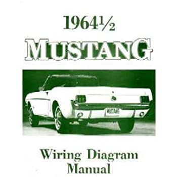 Amazon Com 1968 Ford Mustang Wiring Diagrams Schematics Automotive