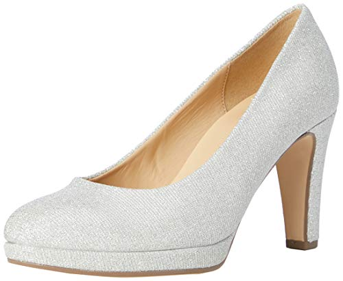 Gabor Shoes Damen Fashion Pumps, Silber (Silber 60), 38 EU