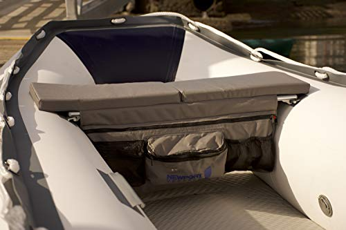 Newport Vessels Dinghy Inflatable Boat Seat Cushion & Underseat Storage Bag, 1 Size