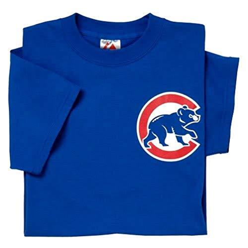 Majestic Adult MLB Replica Crewneck Team Jersey Chicago Cubs XL
