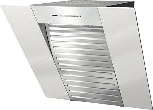 Miele DA 6066 W White Wing Wand-Dunstabzugshaube / Abluft und Umluft / 10-lagiger Edelstahl-Metallfettfilter / kopffreier Glasschirm in 598 mm Breite / Brillantweiß [Energieklasse B]