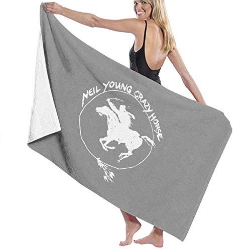 Ewtretr Toallas de baño Crazy Horse Vintage Cama Grande y