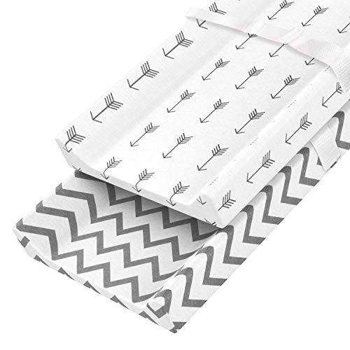 BianchiPatricia Stripe Organic Cotton Waterproof Layer Baby Changing Urine Pad Bed Sheets