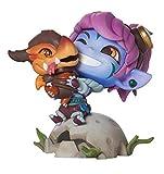 Riot Games Unisex League of Legends Official Figure, Dragon Trainer Tristana, One Size