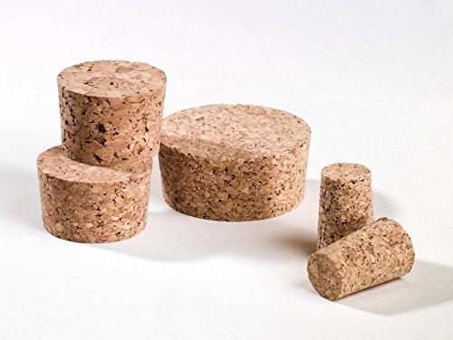 50 corchos de barril de 23 x 20 mm, altura 20 mm, corcho prensado