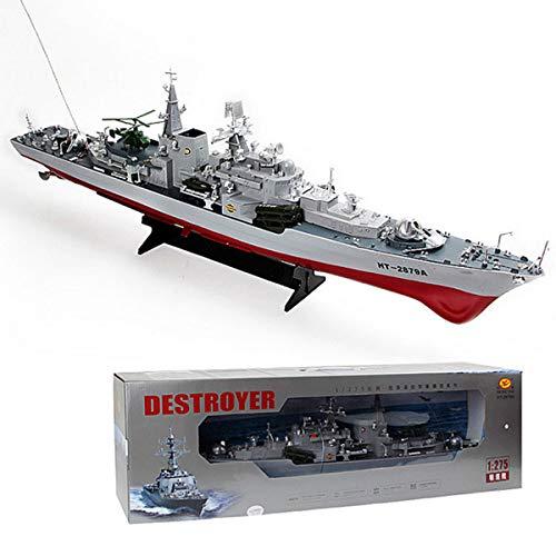 YANGUANG Funksteuerung Boot RC Schlachtschiff Modell Schiff Spielzeugboot RC Ferngesteuertes Mini Kriegsschiff Mit Funkfernsteuerung Batteriebetrieben Spielzeug