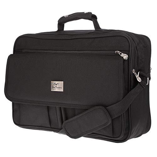 XL Umhängetasche Flugbegleiter Tasche Messenger Arbeitstasche DIN A4 Messenger L