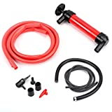 HORUSDY Multi-Use Siphon Fuel Transfer Pump Kit for Gas Oil and Liquids