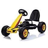Moni Enfants fièvre du Karting, Voiture à pédales, pneus en Plastique,...