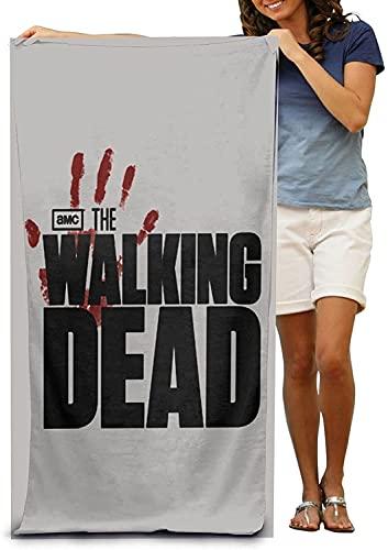 Toalla de playa The Walking Dead, ideal para la playa, bonita toalla de playa, muy adecuada para el deporte (XSZR-1, 100 cm x 200 cm)