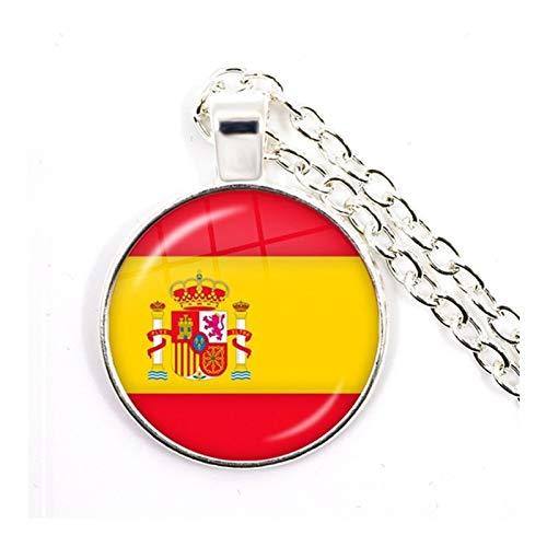 Collar Bandera España  marca ZZYLHS