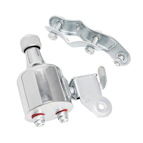 Freshsell Fahrradlichtgenerator 12 V 6 W Dynamo Motorisierter Reibungskopf Rücklicht Kit