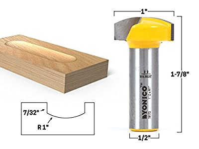 Yonico Horizontal Crown Router Bit