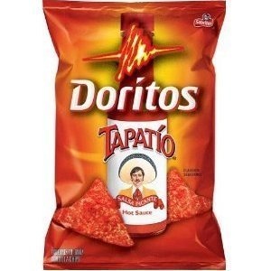 Doritos Tapatio Salsa Picante Hot Sauce Flavor Chips 7.6oz Bag (Pack of 3)