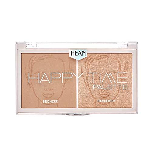 HEAN HAPPY TIME Palette Bronzer & Highlighter 02 sunny, 18 g