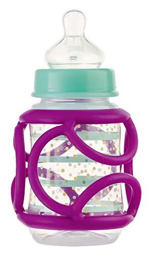 Ravensburger ministeps 4146 baliba Fläschchenhalter - Flexibler Greifling zum eigenständigen Trinken - Baby Spielzeug ab 6 Monate - lila