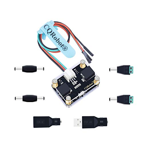 CQRobot Ocean: Relay Module, 5V to 30V Input/Output, DC2.1 Interface, Compatible with Raspberry Pi/Micro:bit/Arduino/Other Control Boards. for Robot, Gardening, Smart Home, RC Car and Other Projects.