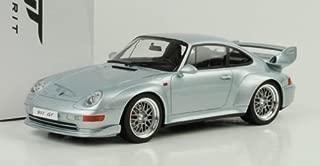 GT Spirit zm098–Porsche 911/993GT–1: 18Scale–Silver