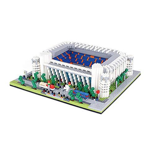 SDBRKYH Santiago Bernabéu del Rompecabezas 3D, Real Madrid Club Estadio Juguete Modelo del Rompecabezas para la Educación