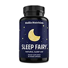 FALL ASLEEP FASTER, SLEEP BETTER, WAKE UP RE-ENERGIZED! Formulated by a neurologist with clinically proven natural ingredients. Safe, gentle and effective! BOOST YOUR PRODUCTIVITY & PERFORMANCE with the Sleep Fairy sleeping aid, which will help promo...