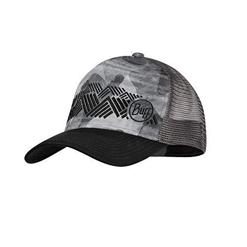 Buff Trucker Cap, Grey, One Size Mens