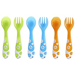top rated Munchkin 6 piece fork and spoon set 2021