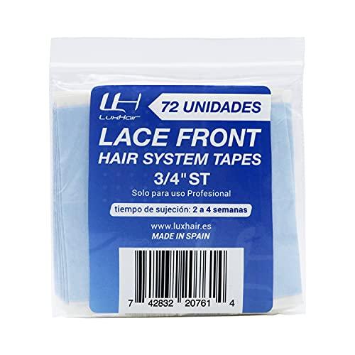 Nastri adesivi per protesi ed estensioni dei capelli per uomo o donna Lace Front di LuxHair | Dritto | 72 u |