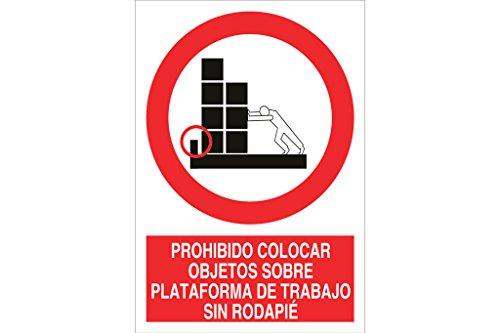 'COFAN p35ad148105 objecten – Signal verboden op platform werk zonder plint