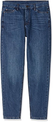 Urban Classics Herren Denim Baggy Pants Loose Fit Jeans, per Pack Blau (clean Blue 01401), W30 (Herstellergröße: 30)