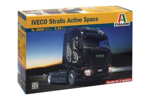 Italeri 3869 - Iveco Stralis Active Space Model Kit Scala 1:24