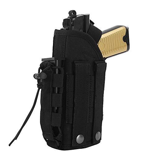 Funda De Pistola Minimalista con Funda De Revista, Funda De Pistola Ajustable para Accesorios De Caza De Mano Derecha