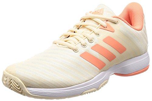 adidas adidas Damen Barricade Court Tennisschuhe, Mehrfarbig (Tincru/Cortiz/Ftwbla 000), 38 2/3 EU