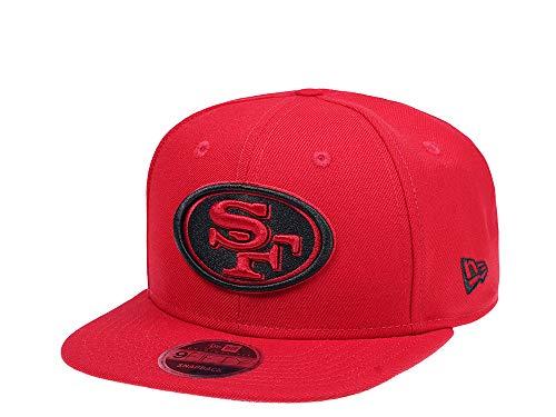 New Era San Francisco 49ers Original Fit Scarlet 9Fifty Snapback Cap - NFL Kappe