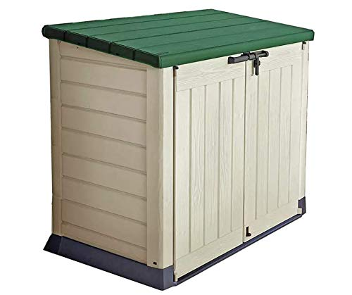 Storage Keter Store It Out Max 1200L Shed - Beige/Green