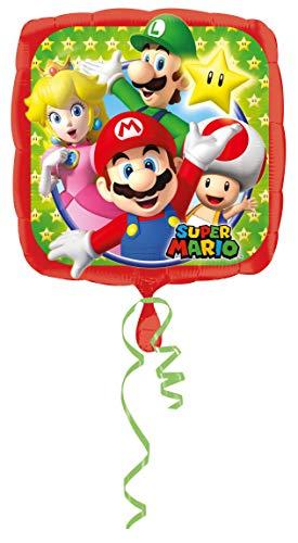 amscan 3200801 Super Mario Bros Ballons de Papier d'aluminium