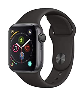 AppleWatch Series4 (GPS, 40mm) - Space Gray Aluminum Case with Black Sport Band (B07HDGH3PV) | Amazon price tracker / tracking, Amazon price history charts, Amazon price watches, Amazon price drop alerts