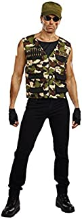 Men's Friendly Fire Man Costume