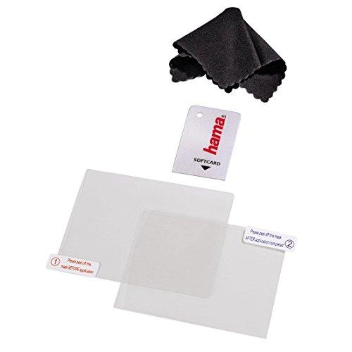 Preisvergleich Produktbild Hama 4in1 Displayschutz-Set für Nintendo New 3DS,  (2x Schutzfolien,  Mikrofaserreinigungstuch,  Softcard)