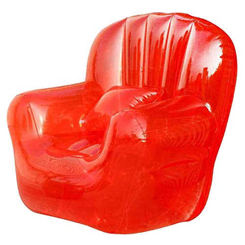 Aufblasbares Sofa Aufblasbares Sofa, transparente Single Outdoor faul Stuhl Tatami Schlafzimmer Schießen Requisiten Freizeit Sofa seechart