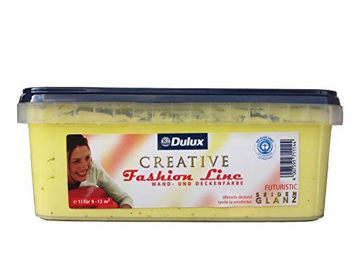 Dulux Creative Fashion Line 1l Wand und Deckenfarbe, seidenglanz mit FARBWAHL (Futuristic)