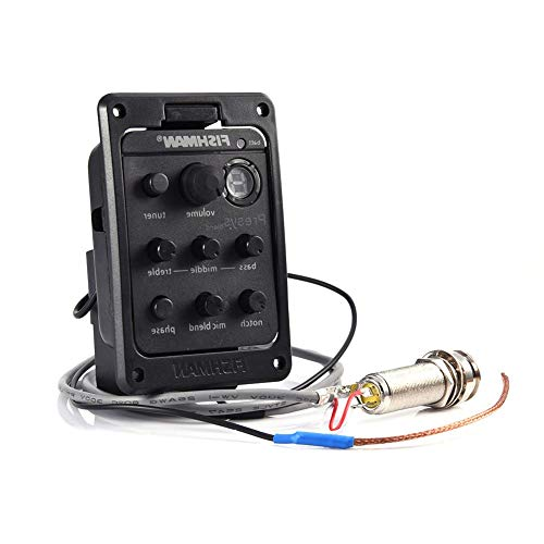 Lowest Price! pliab Acoustic Guitar 4 Band Tuner Preamp Equalizer Pickup Acoustic Electric Guitar Pr...