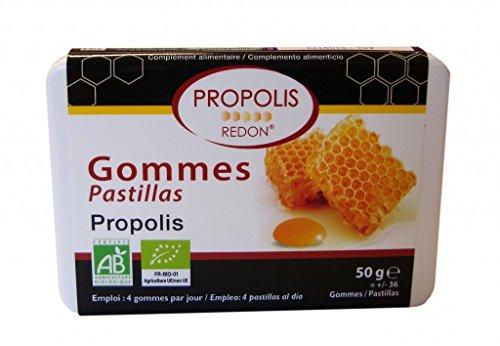 Pastilles Propolis BIO - 36 gommes