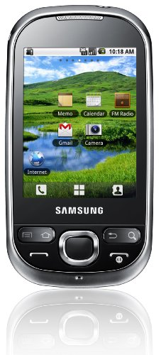 Samsung Galaxy 550 Smartphone (7,1 cm (2,8 Zoll) Bildschirm, Touchscreen, 2 Megapixel Kamera) schwarz