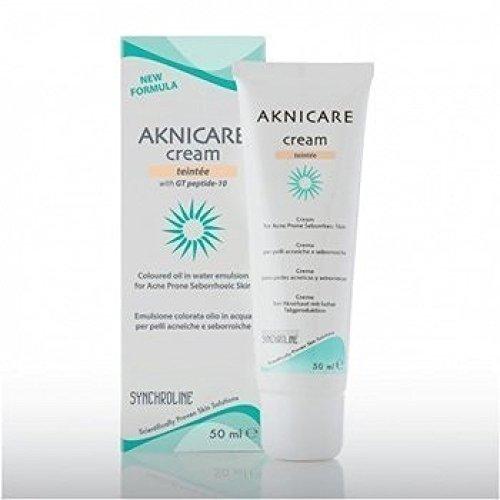 aknicare cream teint clair Farbige Creme für Akne neigender Haut 50 ml